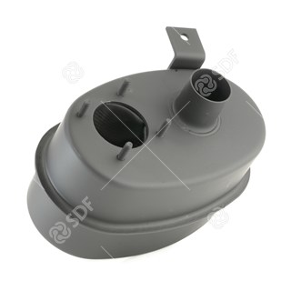 Picture of exhaust silencer