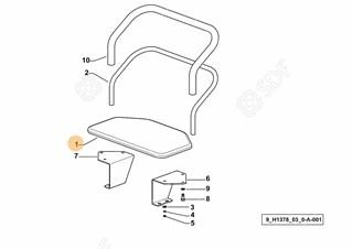 Immagine di sedile passeggero