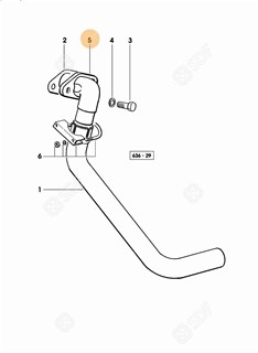 Picture of exhaust pipe