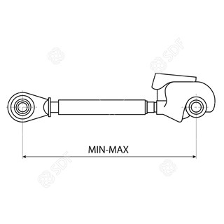Picture of mechanical top link