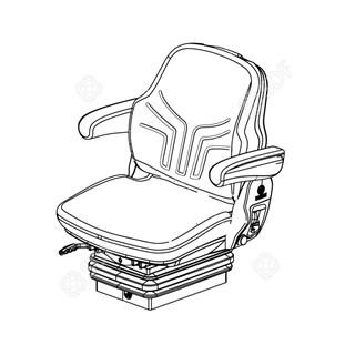Immagine di sedile conducente