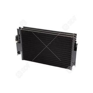 Picture of air conditioning condenser