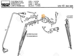 Immagine di motore tergicristallo