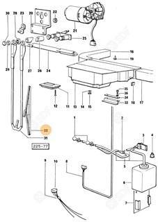 Immagine di spazzola tergicristallo