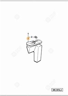 Immagine di pompetta acqua tergicristallo
