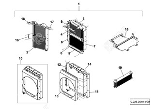 Picture of radiator assembly
