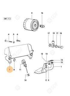 Immagine di radiatore olio